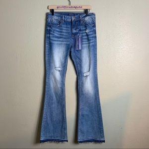 Vigoss jagger flare jeans 28 4b26